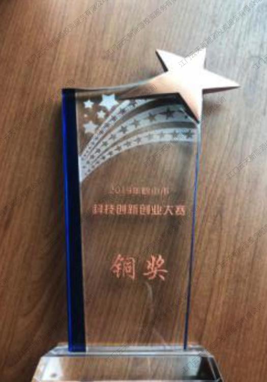 科技创新大赛铜奖