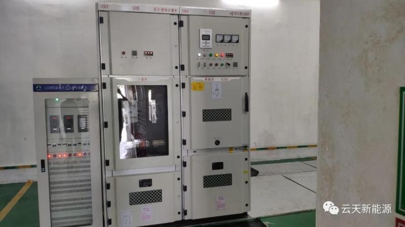 国靖家具等四个配电工程顺利投产并运行正常